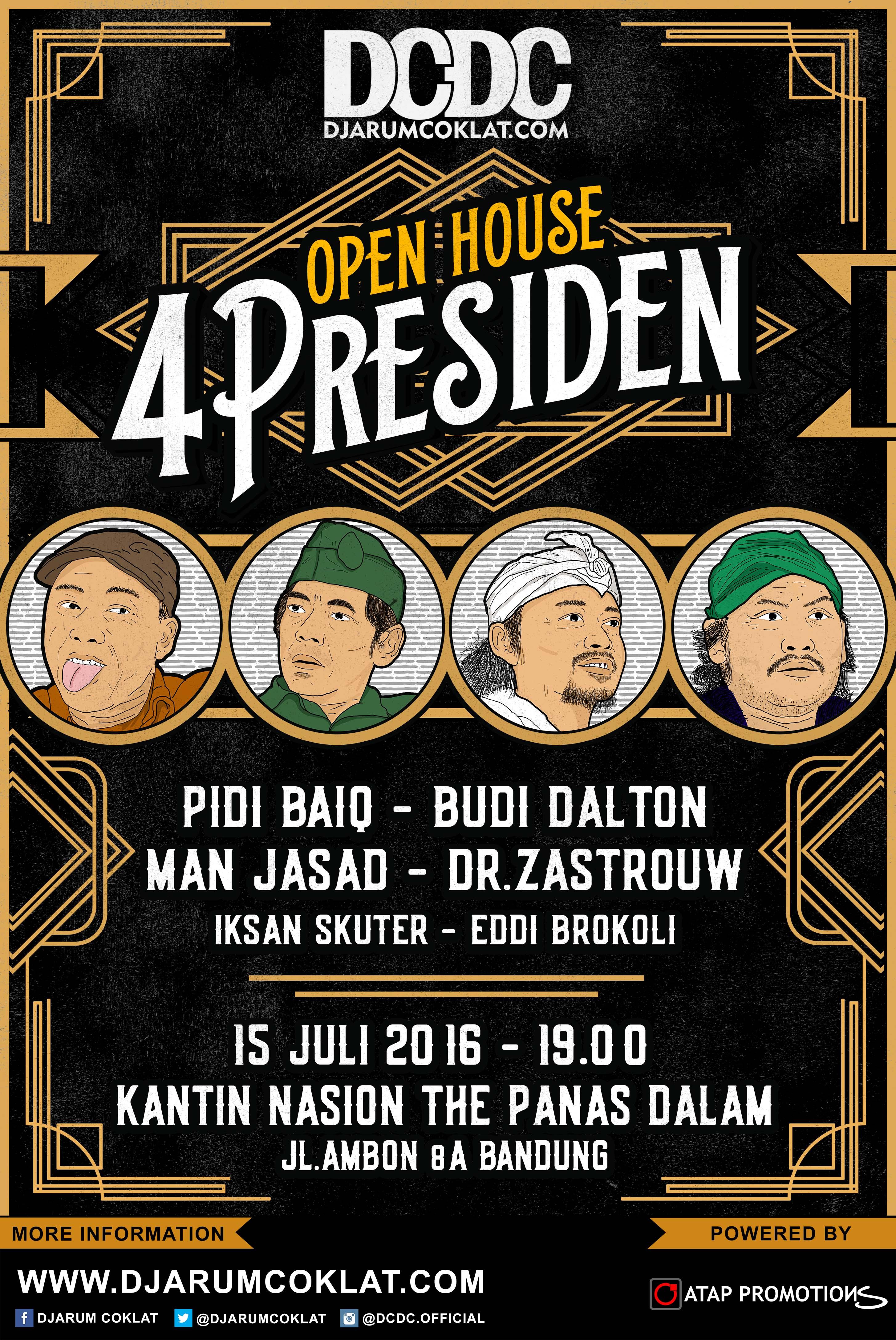 Open House Bersama 4PRESIDEN