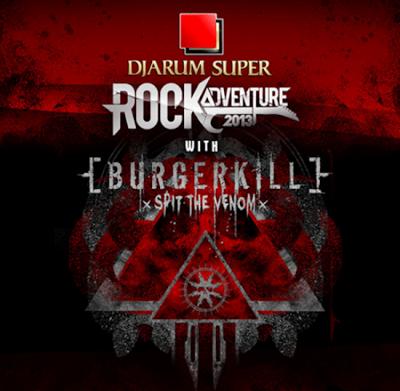 RockAdventure 2013 with Burgerkill - Bandung