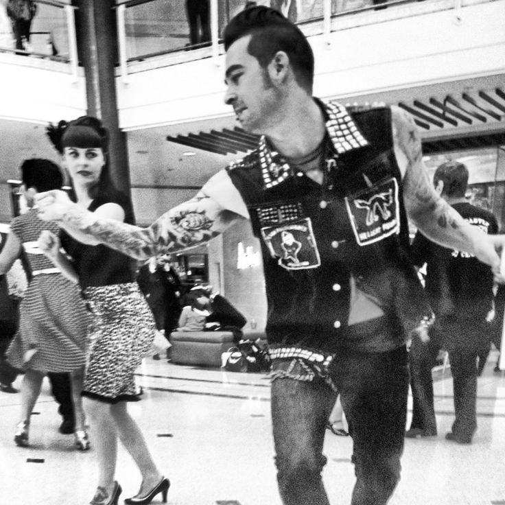 Rockabilly Dancers