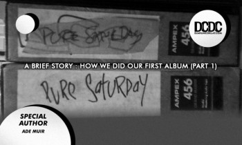 A brief story : How we did our first album (part 1)