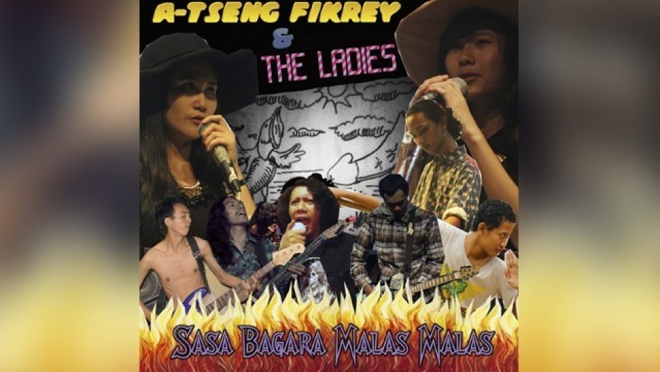 A-Tseng Fikrey and The Ladies Lepas Single 'Teman Seks Alien'