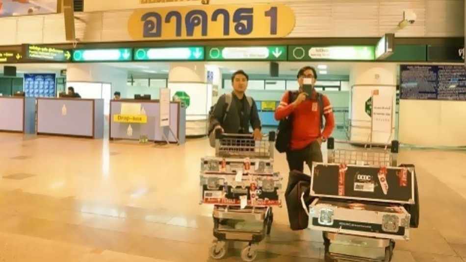 #DCDCdreamworld Day 1 - Terlalu Pagi Menuju Bangkok