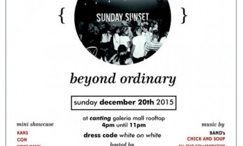 D.I.G PROJECT x Canting Restaurant: SUNDAY SUNSET Vol 4 (SS4)