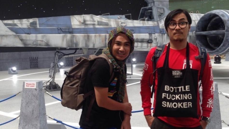 #DCDCdreamworld Day 7: Jadi Zombie di Singapore