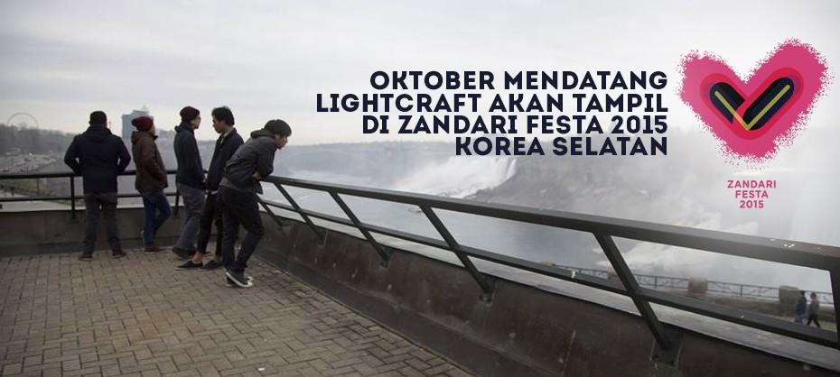 Oktober Mendatang, Lightcraft Akan Tampil Di Zandari Festa 2015 Korea Selatan