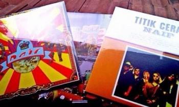 Naif Terbitkan Tiga Album Awal Dalam Bentuk Vinyl