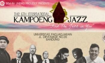 The 6th International KAMPOENG JAZZ Akhirnya Digelar 3 Mei 2014