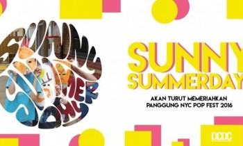 Sunny Summerday Manggung di NYC Pop Fest 2016