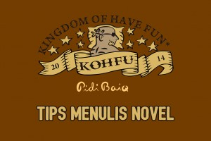 Tips Menulis Novel