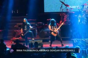 Iwan Fals kolaborasi dengan Burger Kill - Liputan Net TV