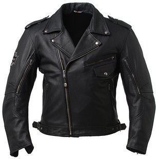 jaket kulit, fashion musik rock n roll