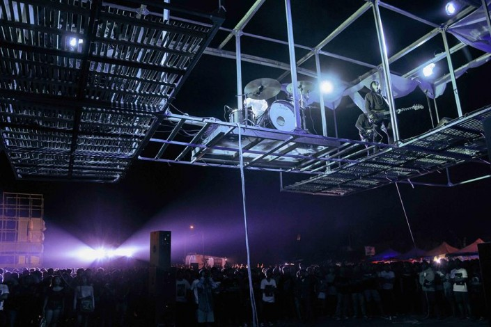 Rollfast Live at Bali Tolak Reklamasi Art Event (Flying Stage)