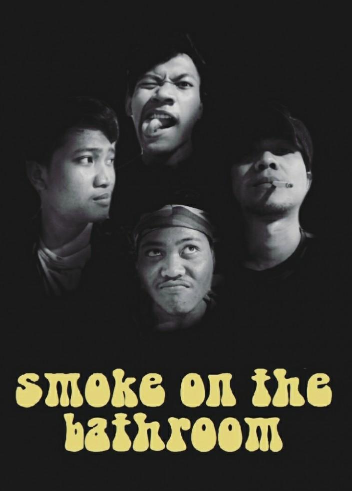 smoke on the bathroom