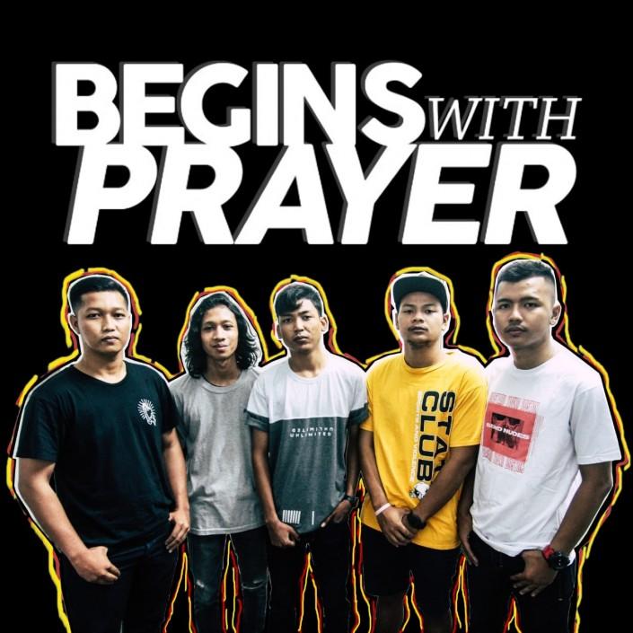 BEGINS WITH PRAYER