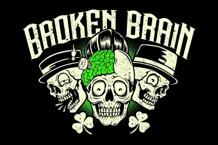 BROKEN BRAIN ROCKPUNKBILLY
