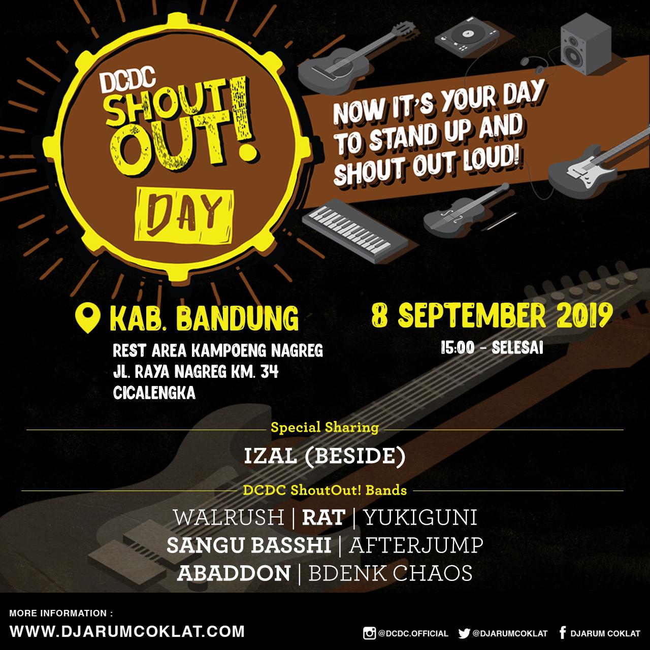 DCDC ShoutOut! Day - Kabupaten Bandung