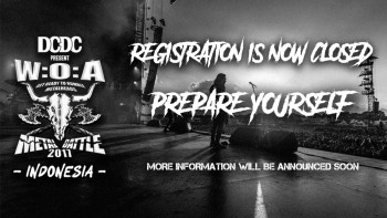 Registrasi Wacken Metal Battle Indonesia 2017 Ditutup!