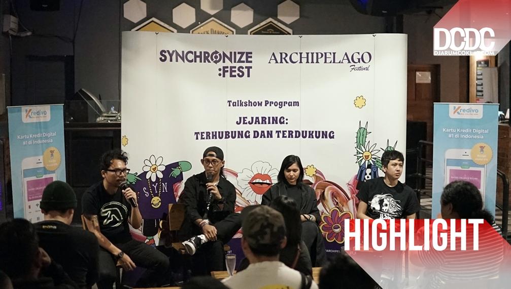 Synchronize X Archipelago : Mengulas Pola Promosi dan Membangun Jejaring Di Ranah Digital.