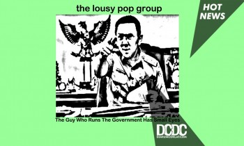 Ahok Jadi Cover Band Indie Pop The Lousy Group