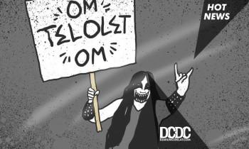 Band Grindcore Terapi Urine Ramaikan Viral 'Om Telolet Om'