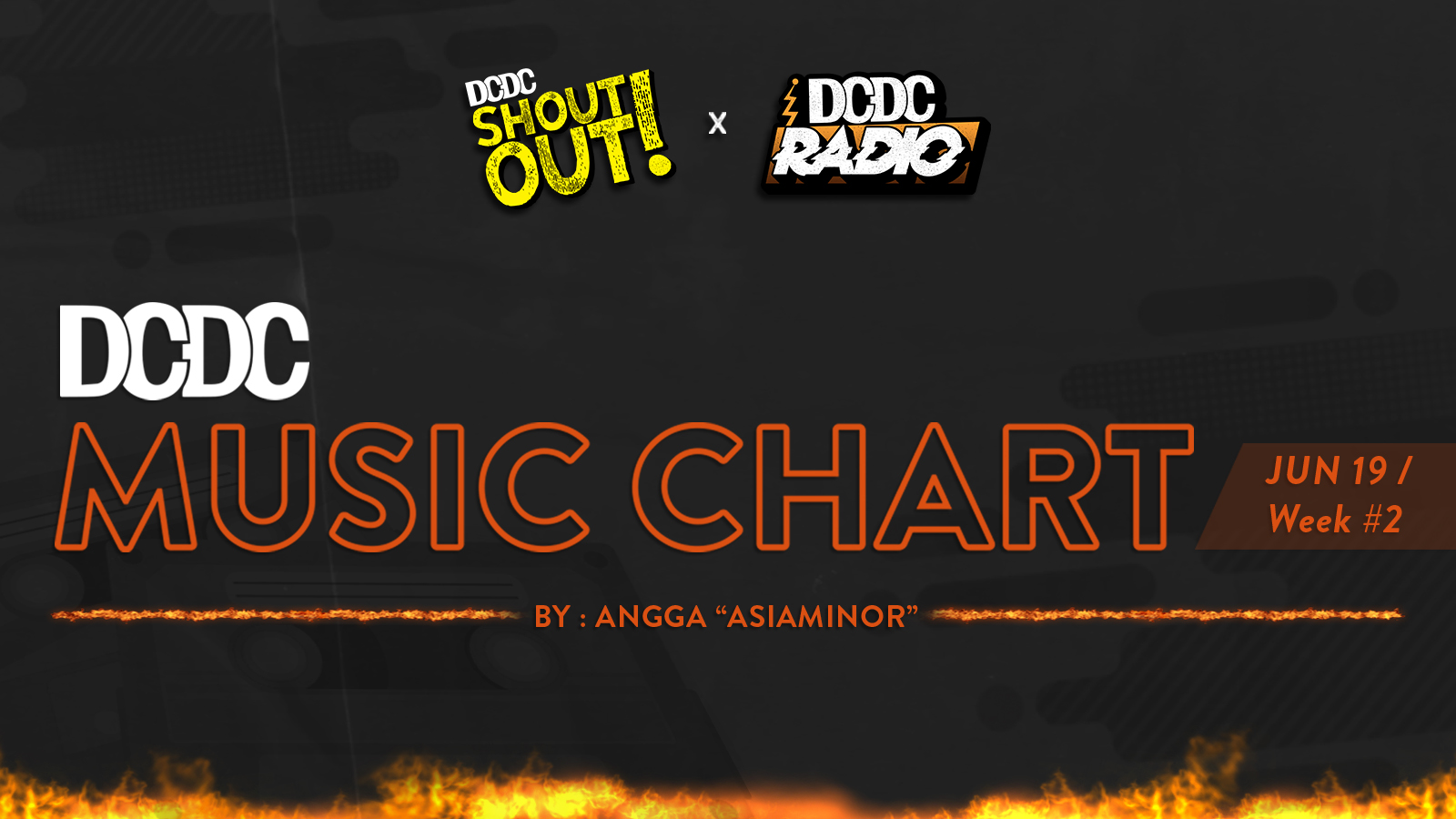 DCDC Music Chart - #2nd Week of June 2019