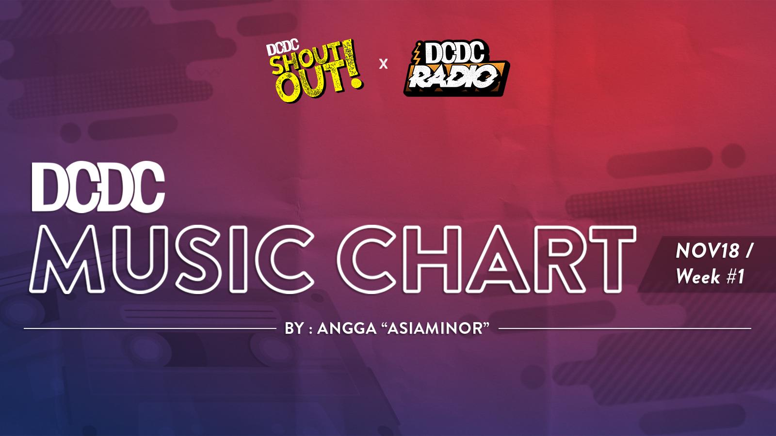 DCDC Music Chart - #1st Week of November 2018