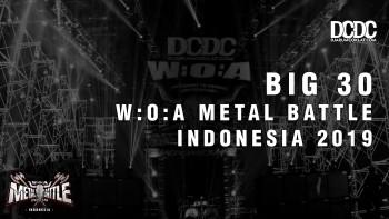 Inilah 30 Besar untuk W:O:A Metal Battle Indonesia 2019!