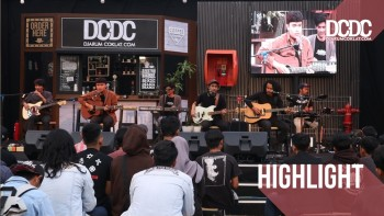 Kolaborasi Dialog Senja X Suar & Temaram di DCDC Ngabuburit Goes To Campus Sukabumi