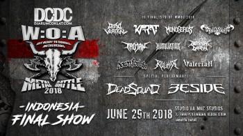Sepuluh Besar Wacken Metal Battle Indonesia 2018 Akhirnya Terpilih!
