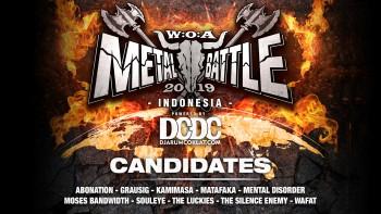 Kandidat W:O:A Metal Battle Indonesia 2019 #2
