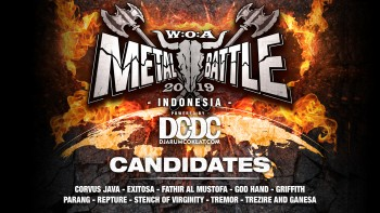 Kandidat W:O:A Metal Battle Indonesia 2019 #1