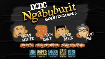 DCDC Ngabuburit Goes To Campus Akan Memeriahkan Ramadhan Tahun Ini