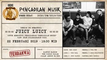 Februari Ini, Juicy Luicy diseret ke Meja Persidangan!