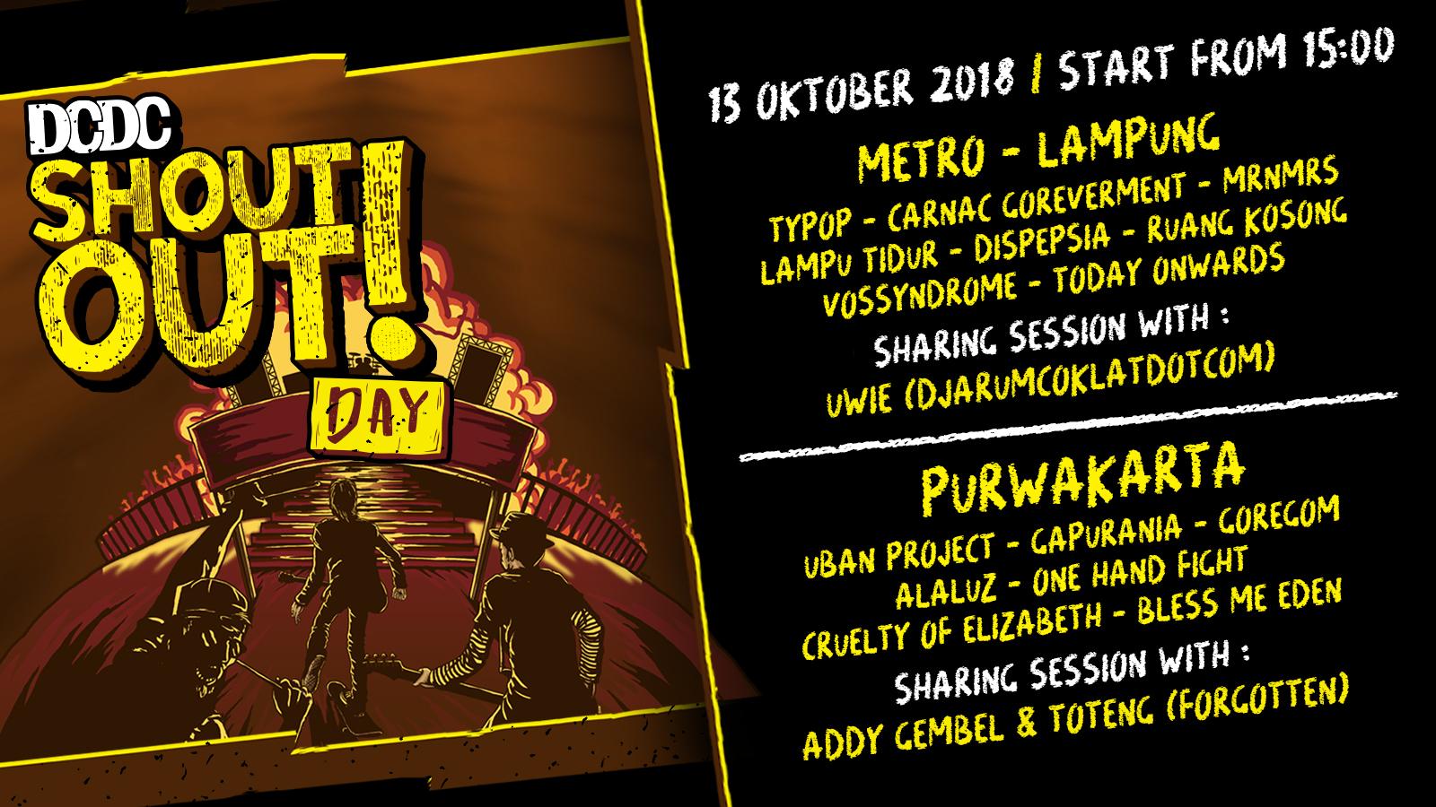 Metro dan Purwakarta, Bersiap untuk DCDC ShoutOut! Day!