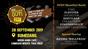 Tujuh Band Andalan Sumedang Akan Hadir di DCDC ShoutOut! Day