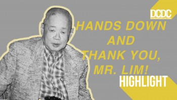 Sang Pelopor, Mr. Harry Lim. Hands Down, and Thank You! (Bagian Lima)
