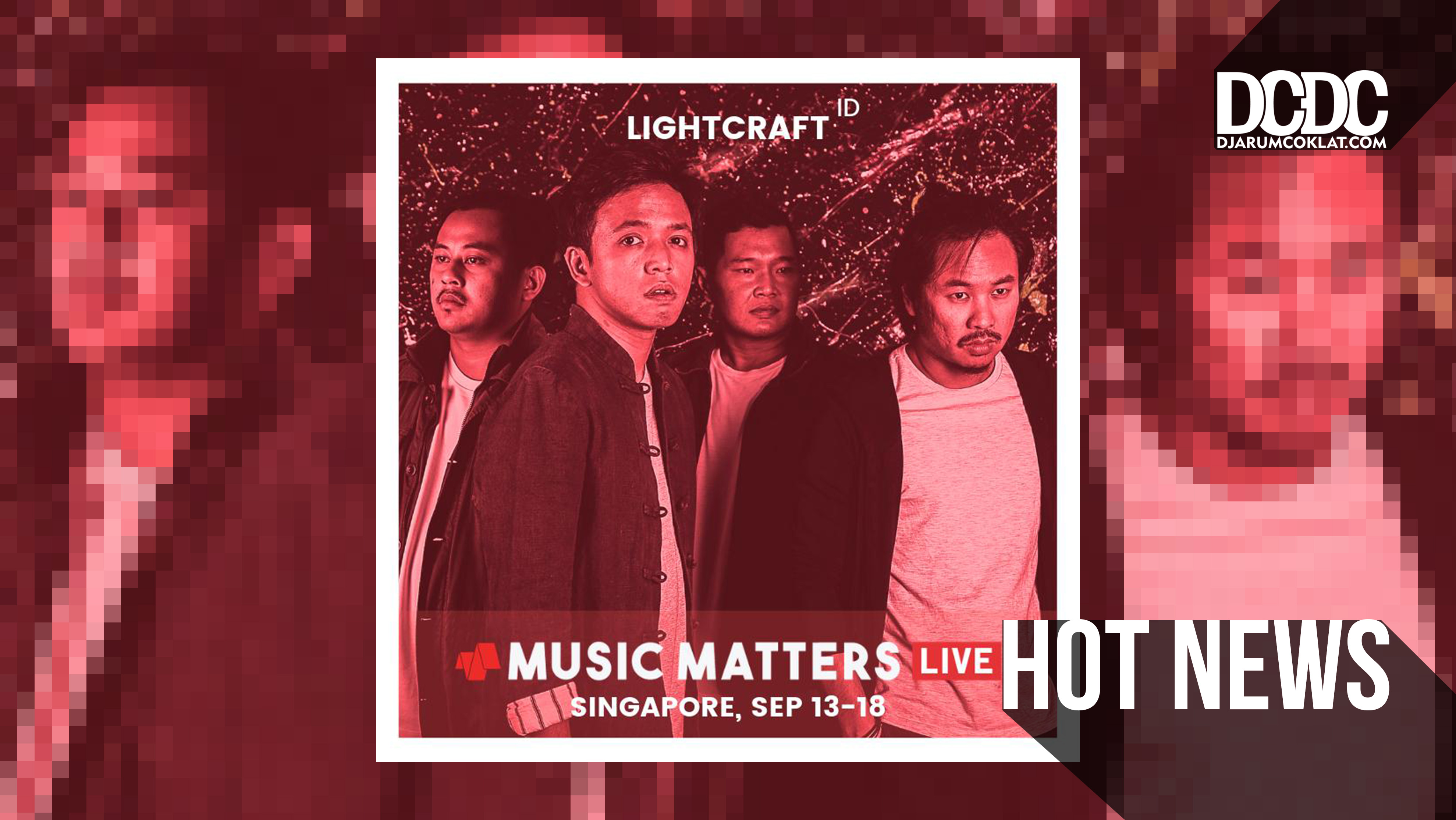 Singapura Kembali Mengundang lightcraft di Music Matters Live