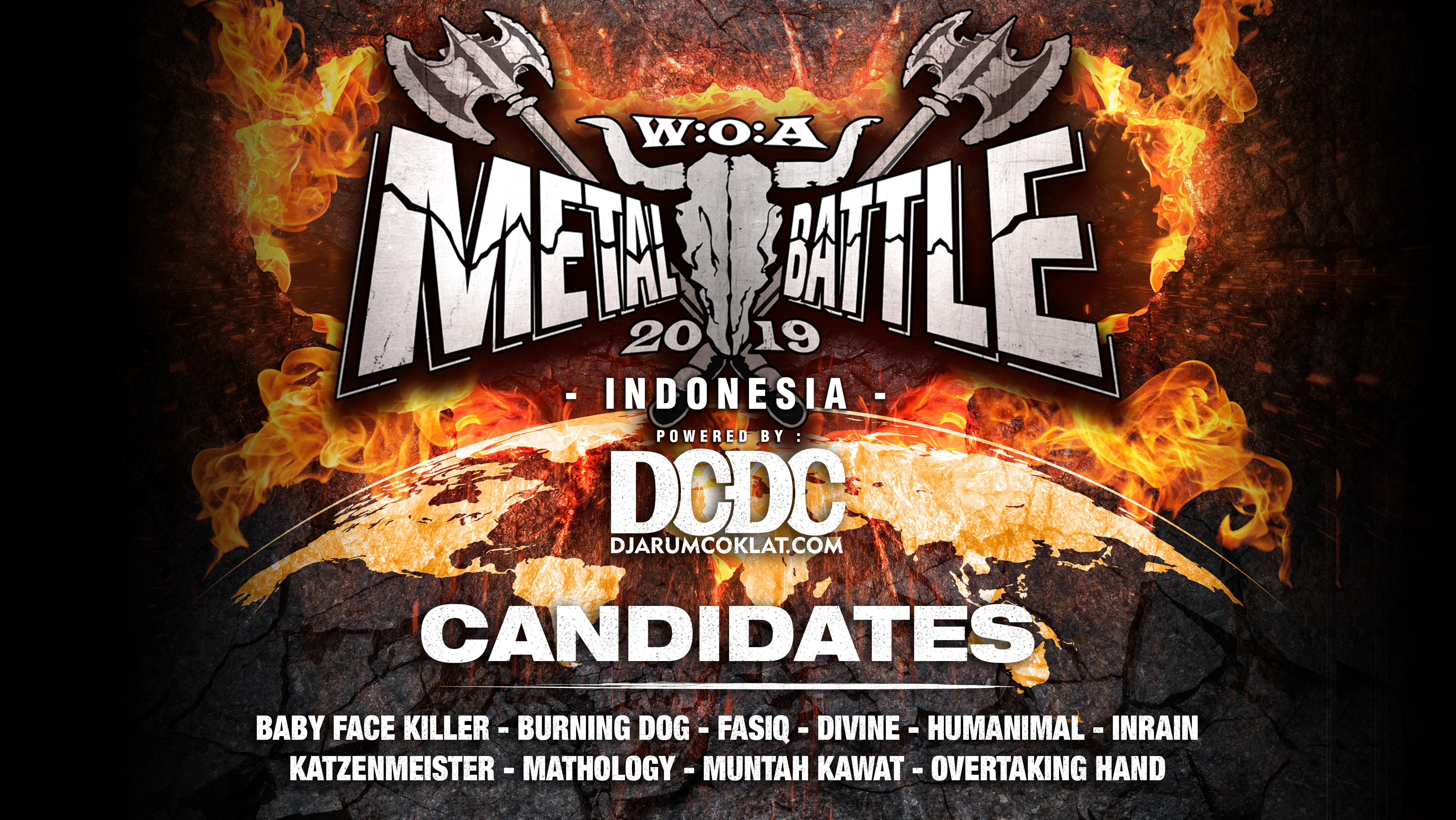 Kandidat W:O:A Metal Battle Indonesia 2019 #10
