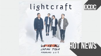 Kuartet Anthemic Indie Rock, lightcraft Sambangi Negeri Matahari Terbit