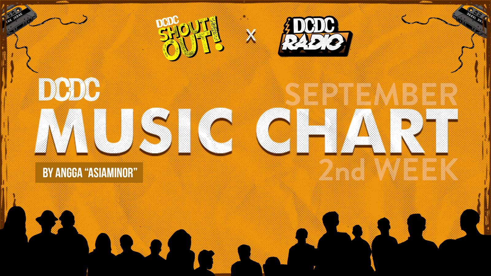 DCDC Music Chart - 2nd Week of September 2018