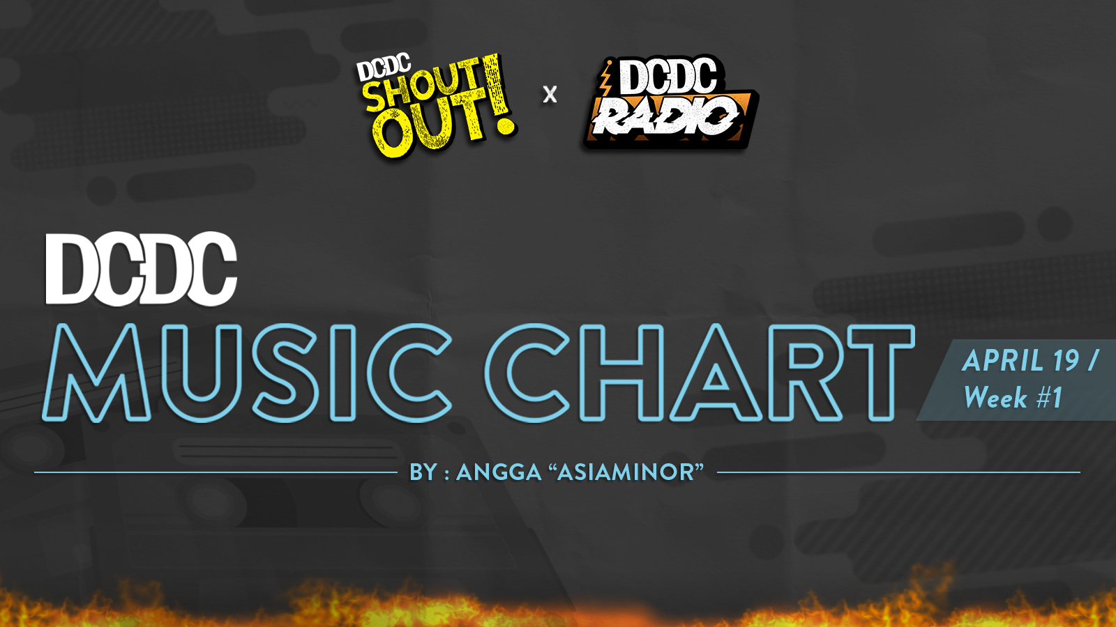 DCDC Music Chart - #1st Week of April 2019