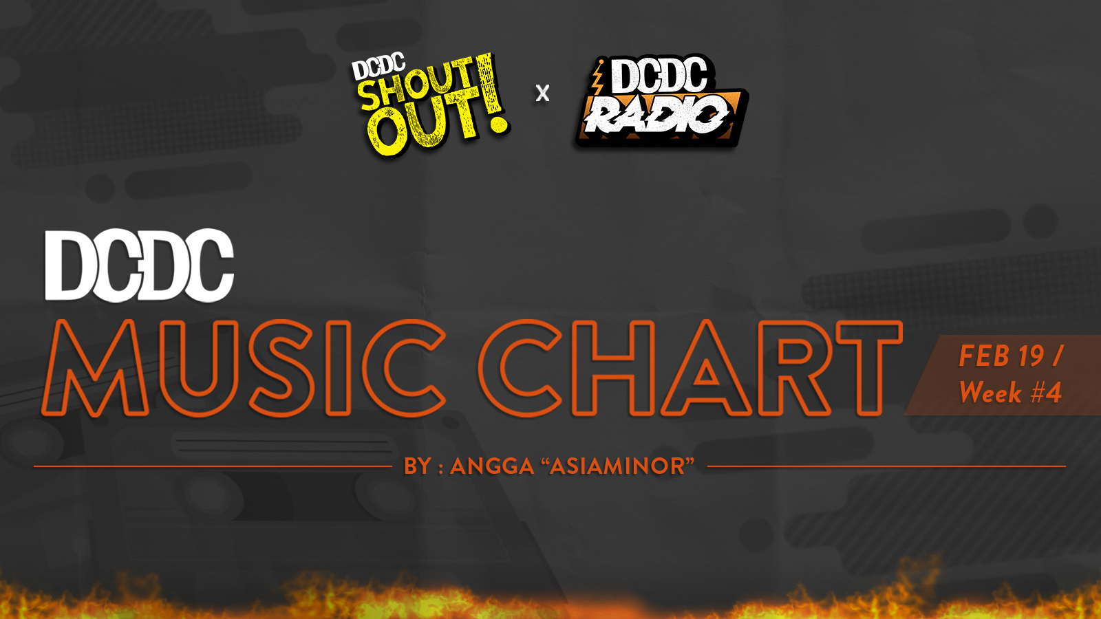 DCDC Music Chart - #4th Week of February 2019