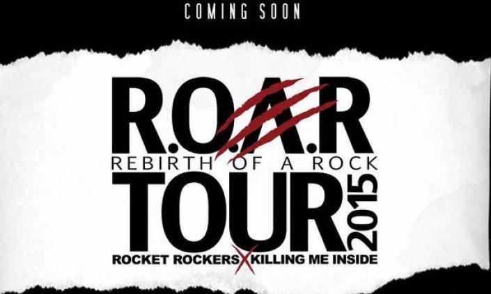 Rocket Rockers x Killing Me Inside, Sebuah Kolaborasi Tur