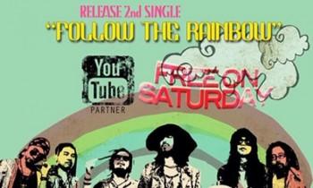 """""""Follow The Rainbow"""", Video Klip Terbaru Free On Saturday"""