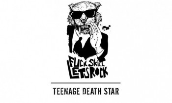 Band hura hura TEENAGE DEATH STAR rilis album dengan format kaset
