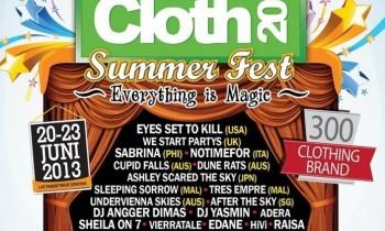 JakCloth 2013 : Summer Fest