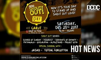 DCDC ShoutOut! Day Kembali Mewadahi Potensi Musik Kota Garut!